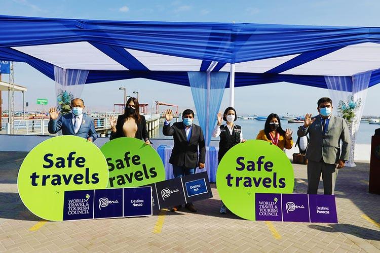 Evento de Safe Travels en Ica