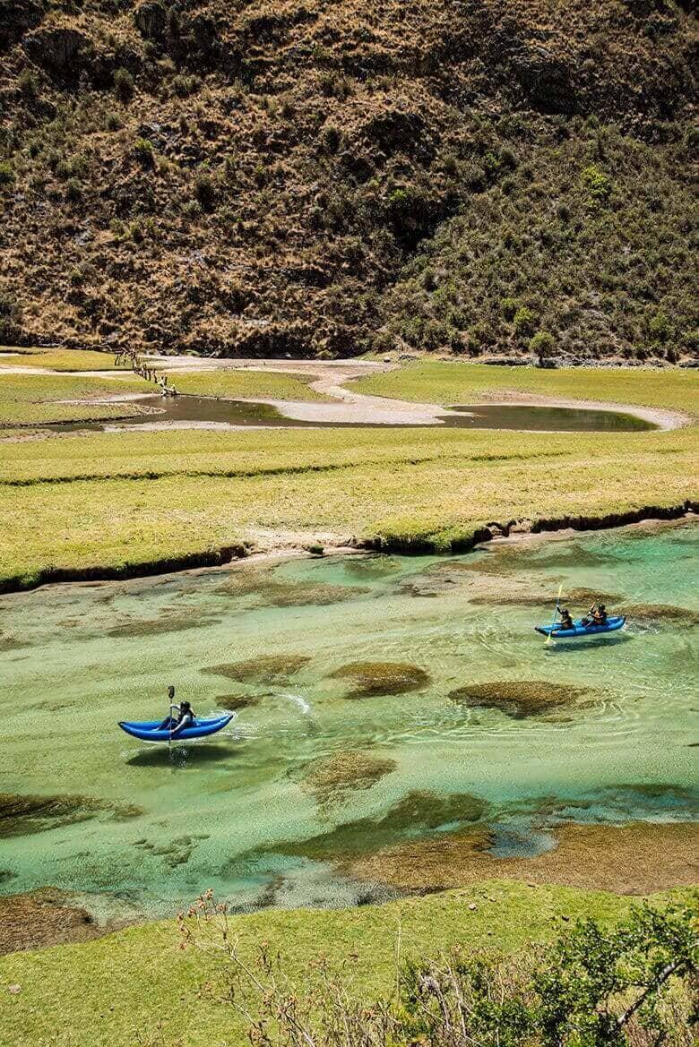 Kayak en Nor Yauyos Cochas