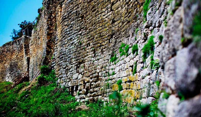 Las murallas de Kuélap