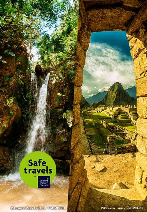 ¡Orgullo nacional! Más sellos Safe Travels para Perú