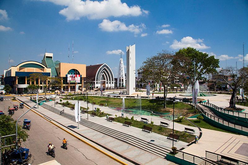 Plaza de Armas de Pucallpa