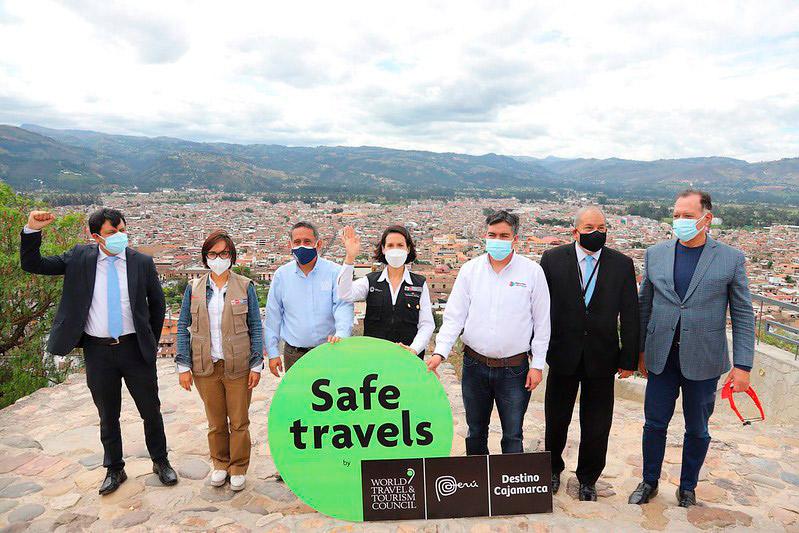 Entrega del Sello Safe Travels en Cajamarca