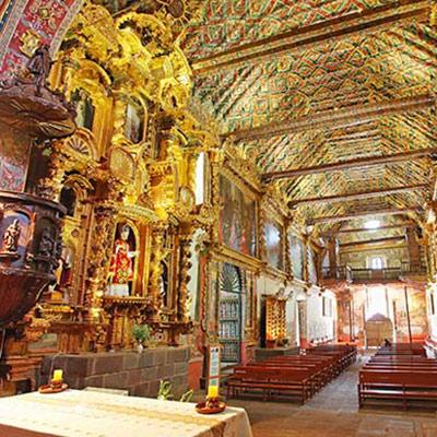Recorre estos cuatro impresionantes templos de Cusco con la imperdible Ruta del Barroco Andina