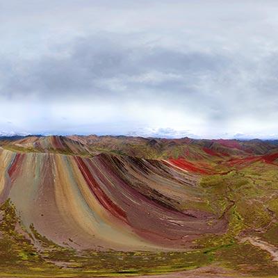 Conoce Palccoyo, ¡la montaña arcoíris!