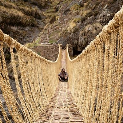 Q'eswachaka, ¡un puente inca en Cusco que sigue en pie!