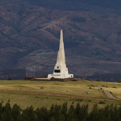 Pampa de la Quinua: llena de patriotismo a Ayacucho
