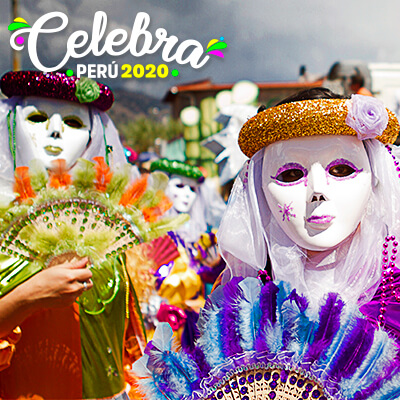 ¡Celebra peruano, ya es carnaval!