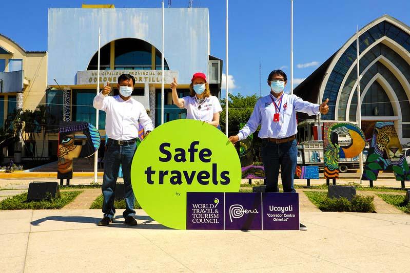 Entrega del sello Safe Travels a Ucayali