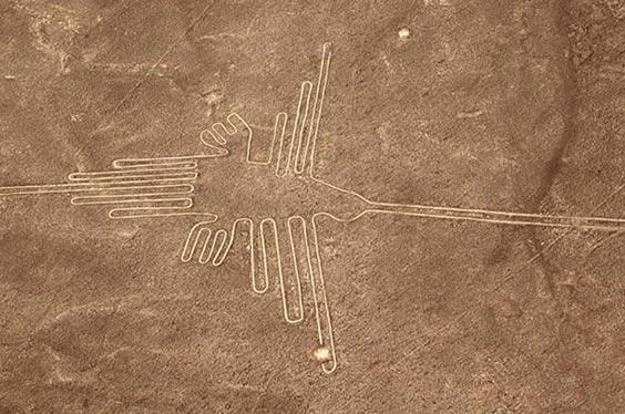 Colibrí Líneas de Nazca