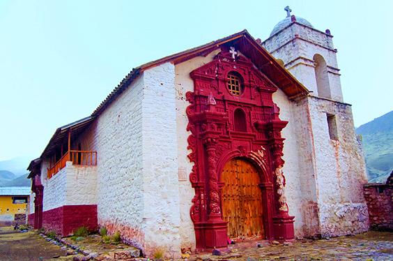 Iglesia Pueblo Fantasma Santa Barbara