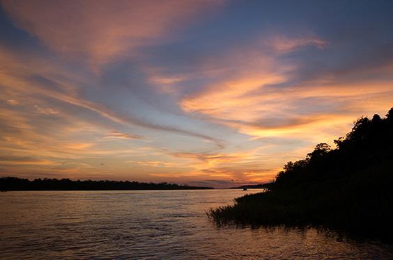 atardecer río amazonas 2