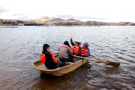 bote laguna