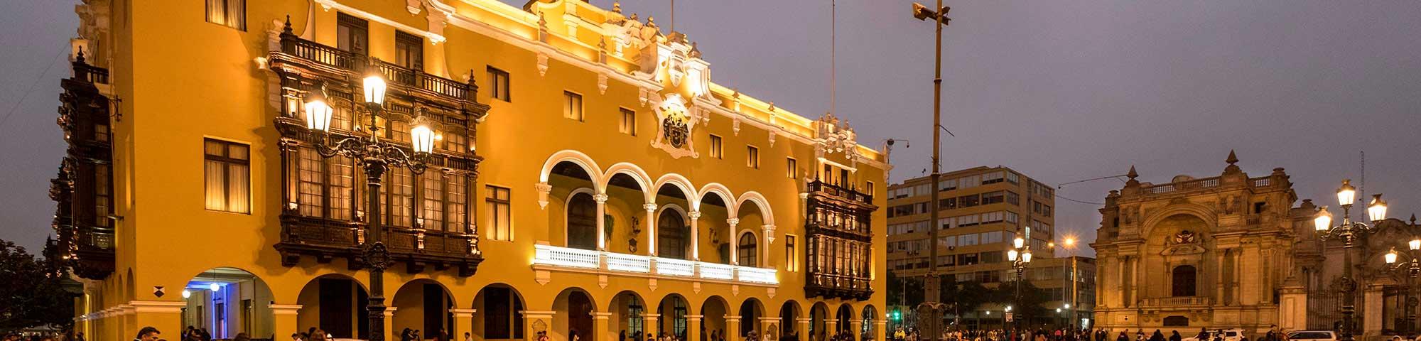 Palacio Municipal de Lima: Se reanudan recorridos turísticos