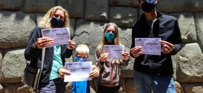 Familia francesa se quedó en el Perú por más de siete meses a la espera de conocer Machu Picchu