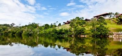 San Martín reanudó visitas a la laguna Sauce e inicia campaña para reflotar el turismo