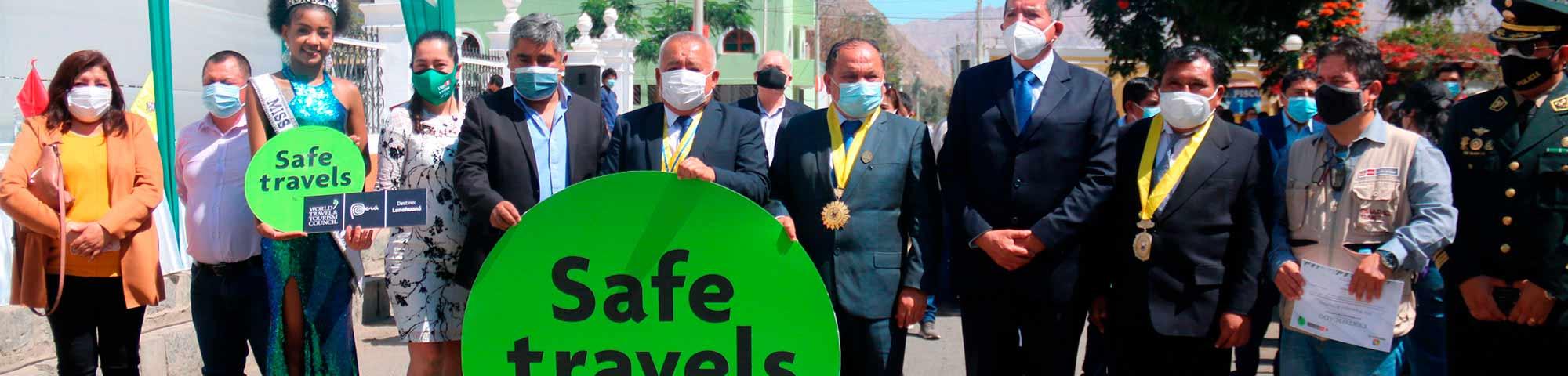 Lunahuaná recibe el sello internacional Safe Travels