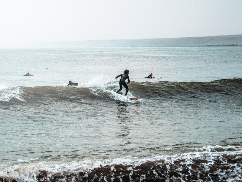 El embrujo de las olas
