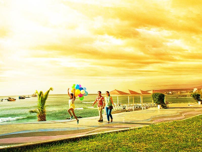 Sol y playa en Ilo